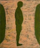 034-staande-figuur-olie-doek-130x110