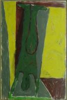 054-handstand-olie-doek-1980-180x120