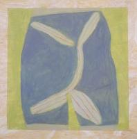 achterwerk - acryl/papier - 35 x 35 - 2016