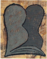 076-torso-acryl-op-papier-40x501992